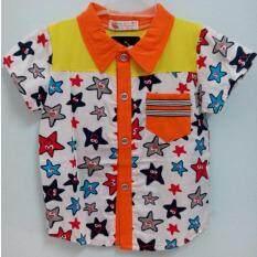 ทบทวน ชุดเสื้อผ้าเด็ก เสื้อเด็กผู้ชาย เสื้อลายดอกคอจีน Unbranded Generic