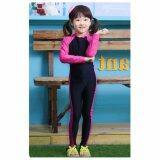 ราคา ชุดว่ายน้ำ บอดี้สูท เด็กผู้หญิง ชุดดำน้ำ สีชมพู ดำ แขนยาว ขายาว ไซต์ M 3Xl H10P Unbranded Generic