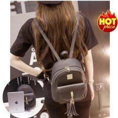 ซื้อ Ck14 กระเป๋าแฟชั่นสไตล์เกาหลี กระเป๋าสะพายหลังลายน่ารัก Black ถูก กรุงเทพมหานคร