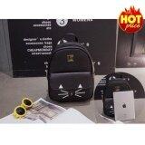 ราคา Ck14 กระเป๋าเป้สะพายหลัง กระเป๋าเป้เกาหลี กระเป๋าเป้หนัง ผู้หญิง รุ่น No 02253 สีดำ ที่สุด