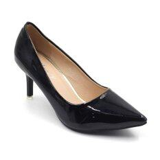 ขาย Classy รองเท้าคัชชูส้นสูง 3 นิ้ว รุ่น 132 5 Black ถูก