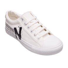 ขาย Classy รองเท้าผู้หญิง รองเท้าแฟชั่น N171 White ออนไลน์