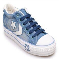 ราคา Classy รองเท้าผู้หญิง รองเท้าแฟชั่น N192 Light Blue ราคาถูกที่สุด