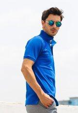 Clear เสื้อโปโล รุ่น ปกทอ สีน้ำเงิน เป็นต้นฉบับ