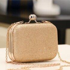 ซื้อ Clearance การขายใหม่หรูหรามินิปาร์ตี้คลัทช์กระเป๋าสตรี ผู้หญิง Shinning กระเป๋าสตางค์กระเป๋าสตางค์สีทอง สีฟ้า ทอง นานาชาติ ออนไลน์ จีน