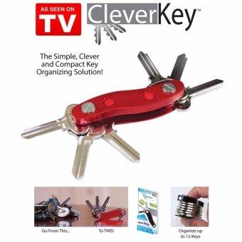 Clever Key อุปกรณ์ Key Smart จัดการเรื่องปัญหากุญแจ ให้เป็นเรื่องง่าย (สีแดง)