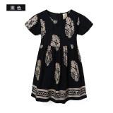 ราคา Clever Star สะดวกสบายผ้าฝ้ายผ้าไหมสาวชุดเดรส 5146 สีดำ ใน ฮ่องกง