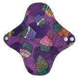 โปรโมชั่น Cloth Pad ผ้าอนามัยซักได้ สีม่วงลายคัพเค้ก