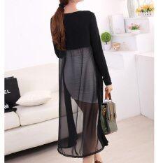 ขาย Clothes เสื้อคลุมแฟชั่นตัวยาว แนวเกาหลี สีดำ รุ่น 5036 Clothes Fashion เป็นต้นฉบับ