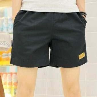 Clothes Fashion กางเกงขาสั้น (สีดำ) รุ่น4001