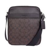 ราคา Coach กระเป๋า Men S Shoulder Bag Diagonally Cliff F54788 Mahogany Brown ใหม่