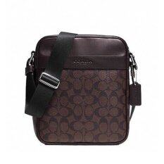 ราคา Coach Men S Shoulder Bag Diagonally Cliff F54788 Ma Br Mahogany Brown ออนไลน์