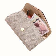 ขาย Coconie Ladies Upscale Evening Party Small Clutch Bag Banquet Purse Handbag Gold Intl ใหม่