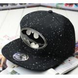 ราคา Comebuy88 แฟชั่นหมวกเบสบอล Snapback Batman ปรับได้หัวเราะฮิพฮอพหาดเพศ สีดำ ในประเทศ Unbranded Generic ใหม่