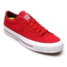 ขาย Converse รองเท้าผ้าใบ ผู้ชาย One Star Canvas Ox รุ่น 12100709C Red Converse เป็นต้นฉบับ