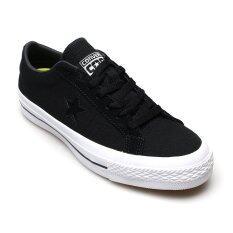 ส่วนลด Converse รองเท้าผ้าใบ ผู้ชาย One Star Canvas Ox รุ่น 12100710C Black Thailand