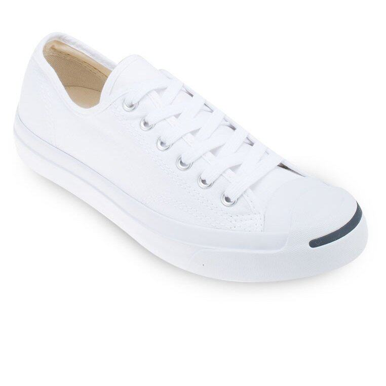Converse รองเท้าผ้าใบ Sneakers Jack Purcell CP Ox - White/White