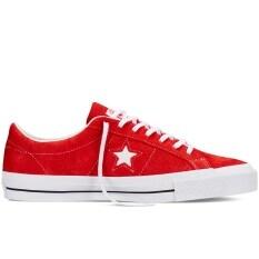 โปรโมชั่น Converse รองเท้า One Star Suede Red White Gum ถูก