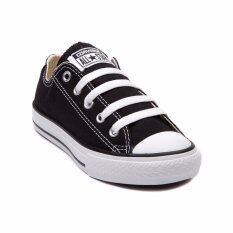 ราคา Converse รองเท้าผ้าใบแฟชั่นรุ่น All Star Low สีดำ เป็นต้นฉบับ