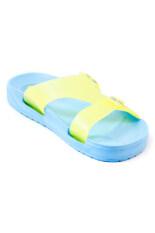 ซื้อ Coqui รองเท้าแตะ รุ่น X Lite สีฟ้าอ่อน ถูก ใน Thailand