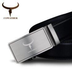 ส่วนลด Cowather เข็มขัดหนังวัวแท้รูปสัตว์ แท้ 100 พร้อมสายคล้องคอที่เป็นของแข็งสายรัดข้อมือเข็มขัดอัตโนมัติเข็มขัดโลหะสีดำ S Xxl Intl Cowather จีน
