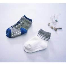 โปรโมชั่น Cozico ถุงเท้าแฟชั่นเด็กกันลื่น 6 12 เดือน แพ็ค 4 คู่ Cozi Co