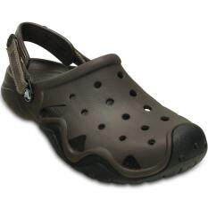 ส่วนลด Crocs Swiftwater Clog M Espresso