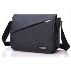 Crossbody Bags กระเป๋าสะพายข้าง พาดลำตัวสีดำ ผู้ชาย รุ่น1516K1 กันน้ำ Black ใน กรุงเทพมหานคร