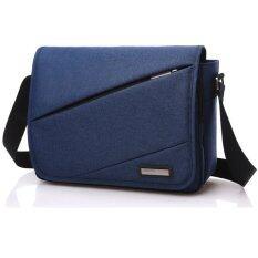 ขาย Crossbody Bags กระเป๋าสะพายข้าง พาดลำตัวสีดำ ผู้ชาย รุ่น1516K1 กันน้ำ Blue Wellcore Oem