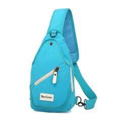 ราคา กระเป๋าสะพายคาดอก คาดหลัง Crossbody Retro Style ฟ้า Moore Caden กรุงเทพมหานคร