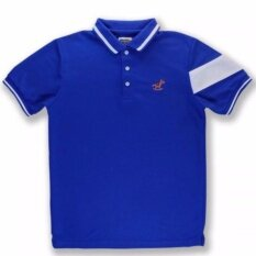 ราคา เสื้อโปโล สีน้ำเงิน เมจิ Crossbow Temmakoji ราคาถูกที่สุด