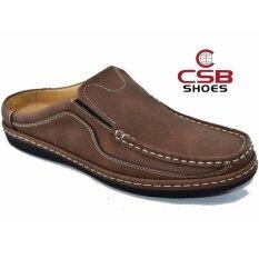 ขาย Csb รองเท้าหนังผู้ชาย Csb รุ่น Cm444 สีน้ำตาล เป็นต้นฉบับ