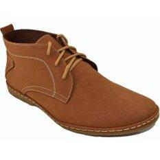 ขาย ซื้อ Csb รองเท้าหนังหุ้มข้อ ผู้ชาย Csb รุ่น Cm976 สีแทน ใน กรุงเทพมหานคร