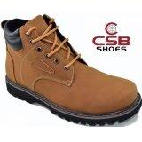 ราคา Csb รองเท้าหนังหุ้มข้อ ผู้ชาย Csb รุ่น Cm978 สีแทน