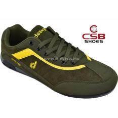 ส่วนลด Csb รองเท้าผ้าใบผู้ชาย Csb Design รุ่น Sl90066 สีกากี กรุงเทพมหานคร