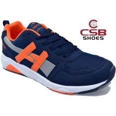 ราคา Csb รองเท้าผ้าใบผู้ชาย Csb รุ่น Ln90063 สีกรม เป็นต้นฉบับ