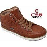 ราคา Csb รองเท้าหนังหุ้มข้อ ผู้ชาย Csb รุ่น Sl97051 แทน ที่สุด