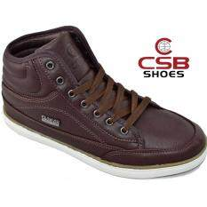 ขาย Csb รองเท้าหนังหุ้มข้อ ผู้ชาย Csb รุ่น Sl97051 น้ำตาล Csb เป็นต้นฉบับ