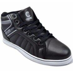 ราคา Csb รองเท้าหนังหุ้มข้อ ผู้ชาย Csb รุ่น Sl97046 ดำขาว กรุงเทพมหานคร