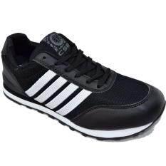 ราคา Csb รองเท้าผ้าใบผู้ชาย Csb รุ่น Ln90060 สีดำขาว เป็นต้นฉบับ