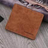 ขาย Curewe Kerien กระเป๋าสตางค์ ผู้ชาย กระเป๋าเงิน กระเป๋าตัง บาง ทรงสั้น Wallet Mens Luxury Leather Credit Id Card Holder Baellerry Billfold Coin Purse Brown ออนไลน์ Thailand