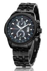 ราคา Curren นาฬิกาข้อมือสุภาพบุรุษ สีดำ สายสแตนเลส รุ่น C8082 Curren เป็นต้นฉบับ