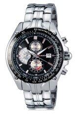 ทบทวน ที่สุด Curren นาฬิกาข้อมือสุภาพบุรุษ สีเงิน ดำ สายสแตนเลส รุ่น C8083