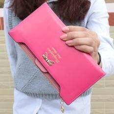 ซื้อ Cute Bow Plug Ladies Purse Long Wallet Pink Intl Unbranded Generic เป็นต้นฉบับ