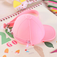 ขาย Cute Purse Hat Silicone Waterproof Wallet Pouch Coin Bag For Women Pink Unbranded Generic ออนไลน์