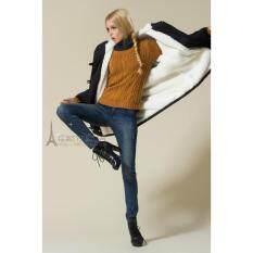 ขาย Cw5911008 เสื้อโค้ทสไตร์แจ๊กเก็ตบุกำมะหยี่กันลมกันหนาวมีฮูดสีดำ ออนไลน์ กรุงเทพมหานคร