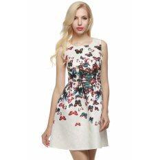 ทบทวน เสื้อแขนกุดสตรีงานดอกไม้มินิไซเบอร์ Acevog สวนฟองแต่งตัวออกงานราตรี หลายสี