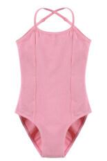 ซื้อ ไซเบอร์ Arshiner สาวแขนกุดยืดหยุ่น Dancewear ยิมนาสติกบัลเล่ต์กางเกงแนบเนื้อที่พวกเล่นละครสวมปรับได้ สีชมพู