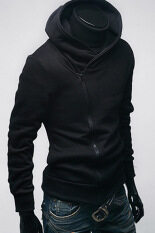 ราคา Cyber South Korea Men S Designed Thickening Hoodie Jacket Coat Sweatshirt Black ใหม่
