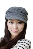 โปรโมชั่น จีบผู้หญิงมามากเป็นกระเทยยอดหมวกกันแดดสำลี สีเทา ใน Thailand
